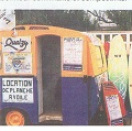 une caravane sur la digue du sillon en 1986 ...