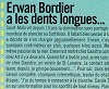 erwan bordier a les dents longues ...
