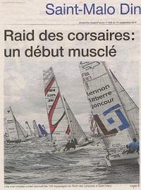 raid des corsaires : un début musclé