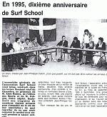 les 10 ans du surfschool