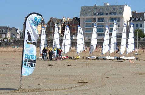 Surfschool Saint Malo Activites Enfants 9 12 Ans Char A Voile