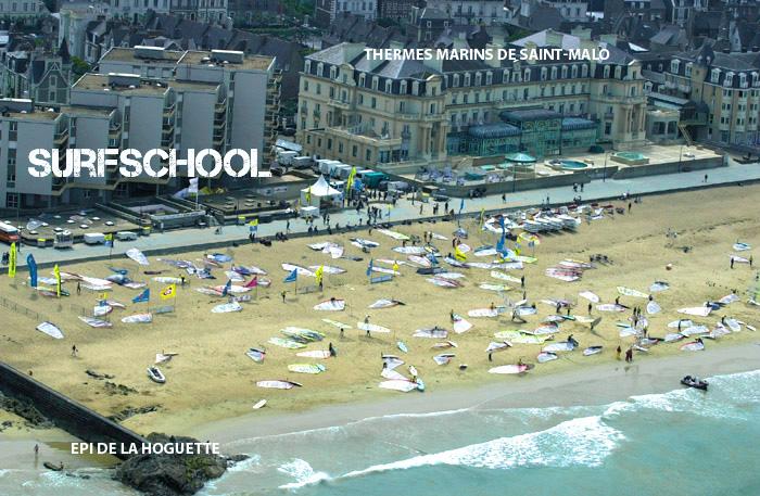 Surfschool saint malo contact et plan d 39 acc s l 39 cole de voile - Office de tourisme st malo telephone ...